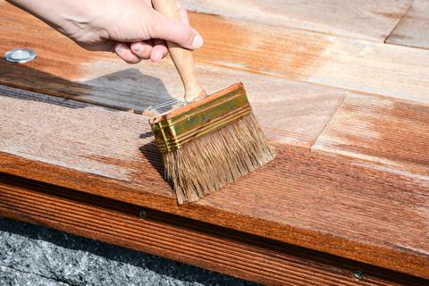 Pflege von Holzterrassen
